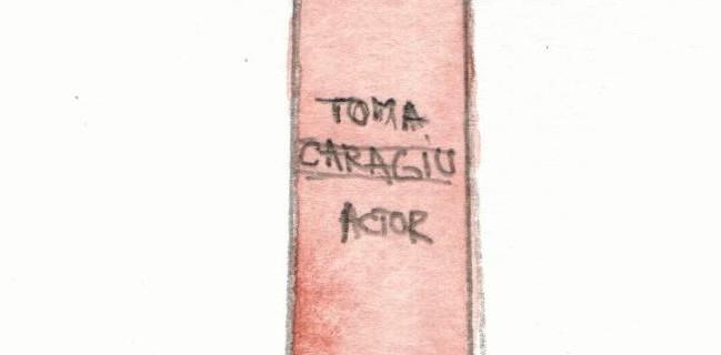 Bustul lui Toma Caragiu / Toma Caragiu Bust