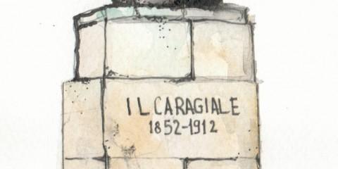 Bustul lui Ion Luca Caragiale / Ion Luca Caragiale Bust